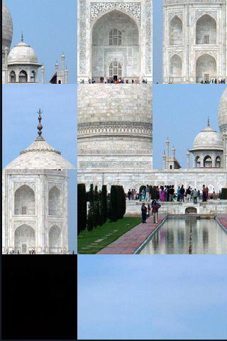 SlidePuzzle - Taj Mahal screenshot #1