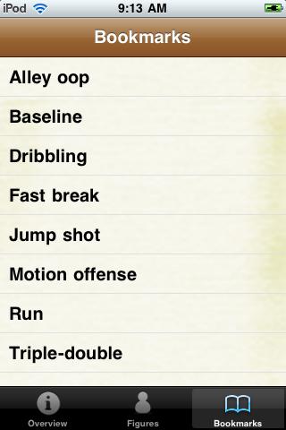Basketball Terminology screenshot #5
