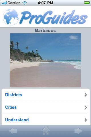 ProGuides - Barbados screenshot #1