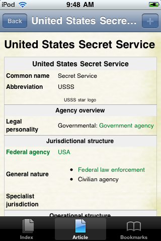 United States Secret Service Study Guide screenshot #1