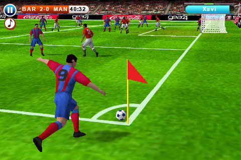 Real Soccer 2010 Free screenshot #2