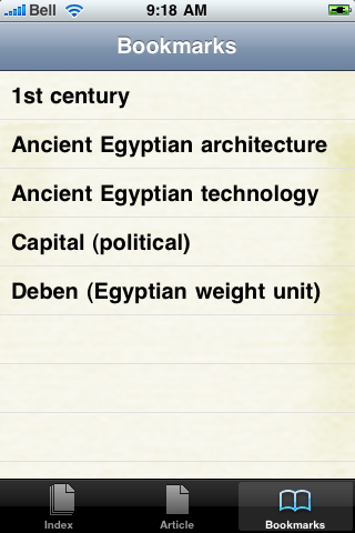 Ancient Egypt Study Guide screenshot #2