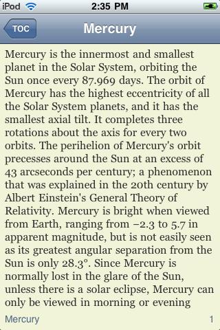 Planet Mercury screenshot #3
