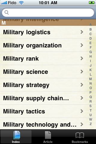 Military Strategy Study Guide screenshot #2