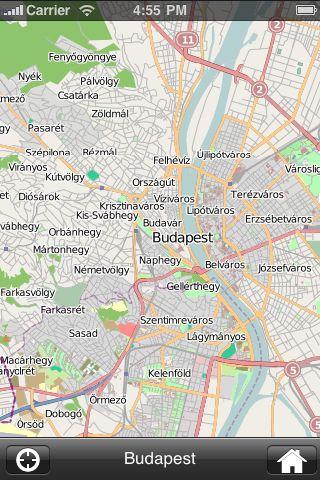 iMapsPro - Budapest screenshot #1