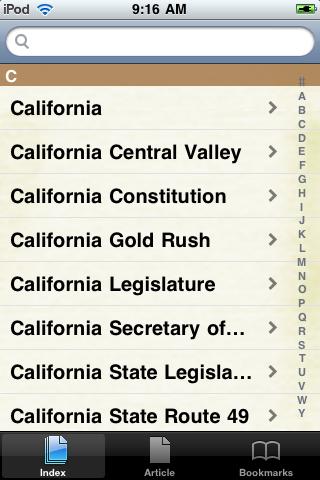 The California Gold Rush Study Guide screenshot #2