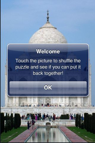 SlidePuzzle - Taj Mahal screenshot #2