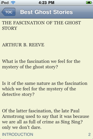 Best Ghost Stories screenshot #3