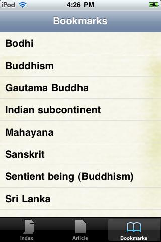 Buddhism Study Guide screenshot #3