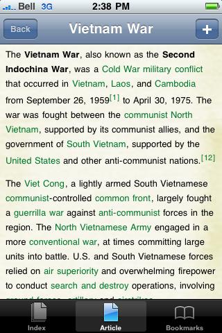 Vietnam War Study Guide screenshot #1