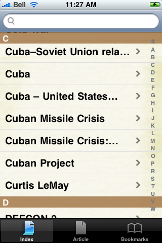 Cuban Missile Crisis Study Guide screenshot #3