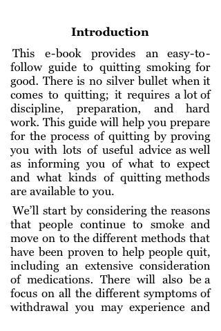 How To Quit Smoking Today screenshot #1