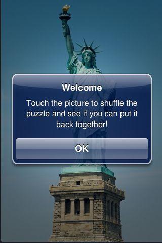SlidePuzzle - Statue of Liberty screenshot #3