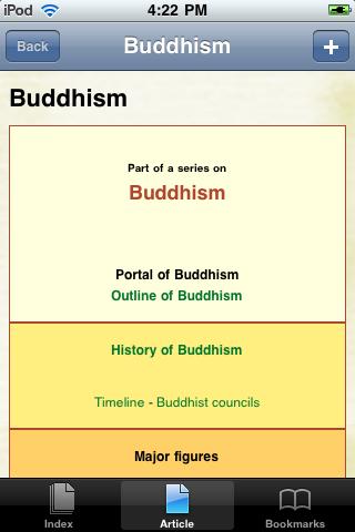Buddhism Study Guide screenshot #1