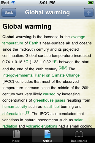 Global Warming Study Guide screenshot #1