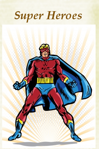 Super Heroes Pocket Book screenshot #1