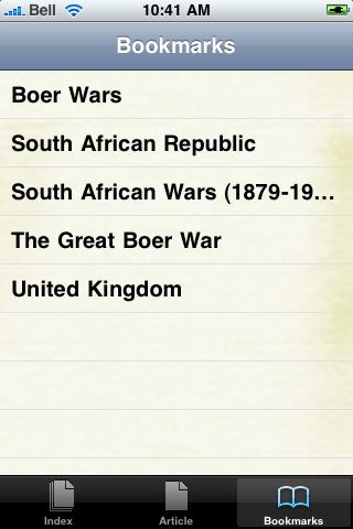 Boer Wars Study Guide screenshot #2
