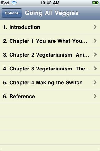 Goin' All Veggies - A Guide to Becoming a Vegetarian screenshot #2
