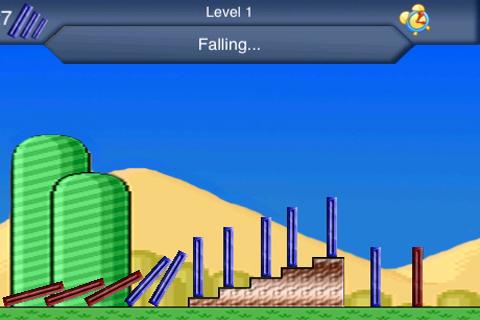 DominoFall Lite screenshot #1