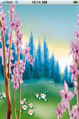Spring Forest Snow Globe screenshot #1