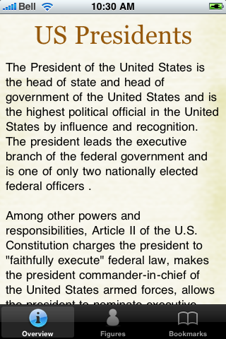 US Presidents Pocket Book screenshot #2