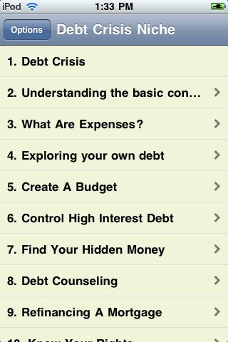 Debt Crisis screenshot #2