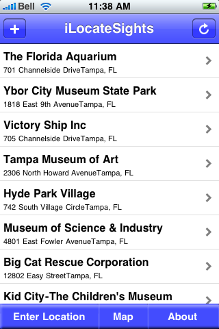 Tampa, Florida Sights screenshot #2