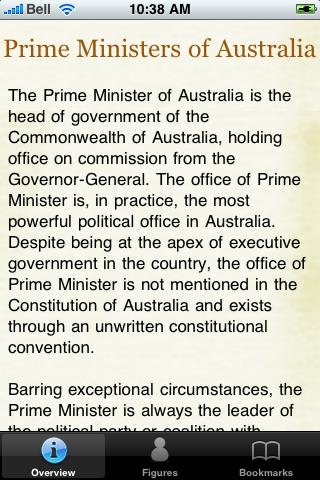 Prime Ministers of Australia Pocket Book screenshot #2