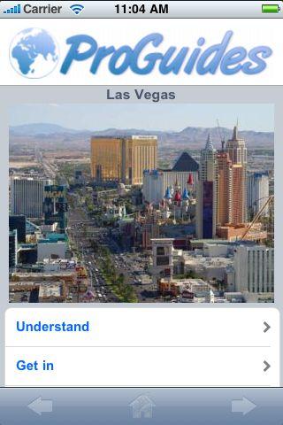ProGuides - Las Vegas screenshot #1
