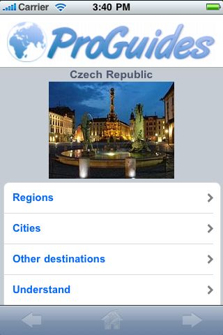 ProGuides - Czech Republic screenshot #1