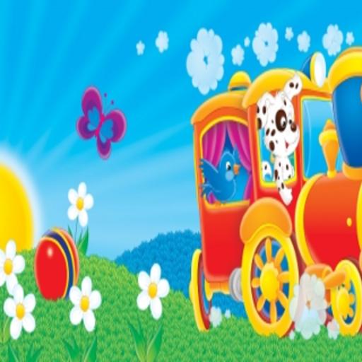 Fun Animal Train Slide Puzzle