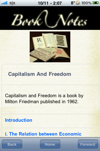 Book Notes - Capitalism and Freedom screenshot #3