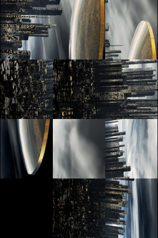 Alien Invasion Slide Puzzle screenshot #3