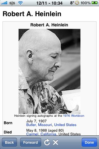 Robert A Heinlein Quotes screenshot #1