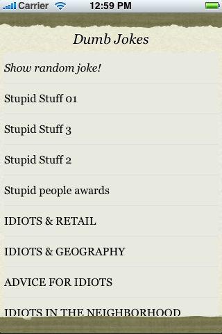 Dumb Jokes screenshot #3