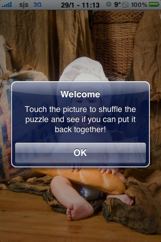 Baby Chef Slide Puzzle screenshot #3