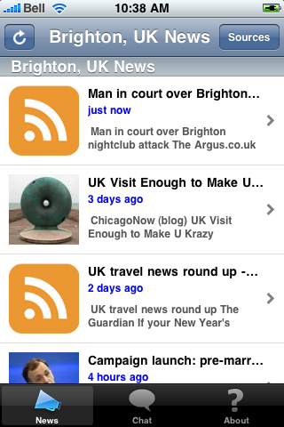 Brighton, UK News screenshot #1