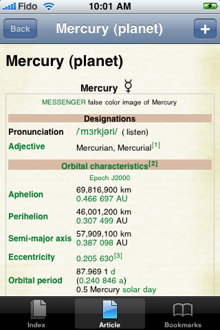 Mercury Study Guide image #1