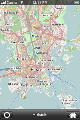 iMapsPro - Helsinki screenshot #1