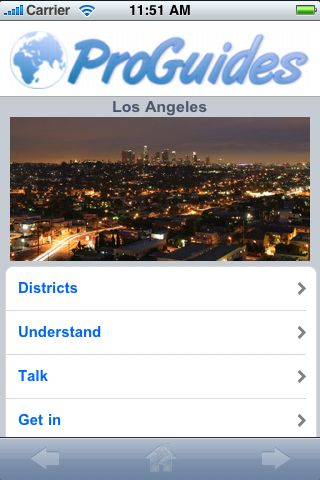 ProGuides - Los Angeles screenshot #1