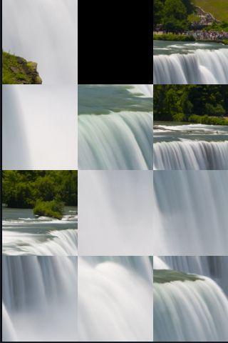 SlidePuzzle - Niagra Falls screenshot #1
