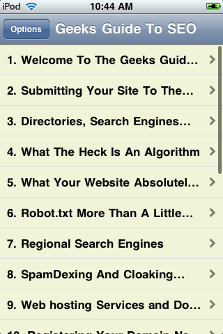 The Geek's Guide to SEO screenshot #2