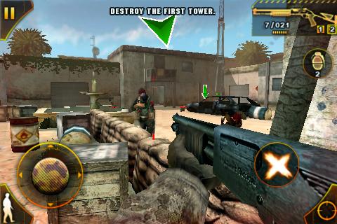 Modern Combat: Sandstorm FREE screenshot #1