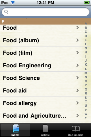 Food Study Guide screenshot #2