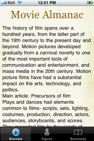 Movie Almanac Lite screenshot #1
