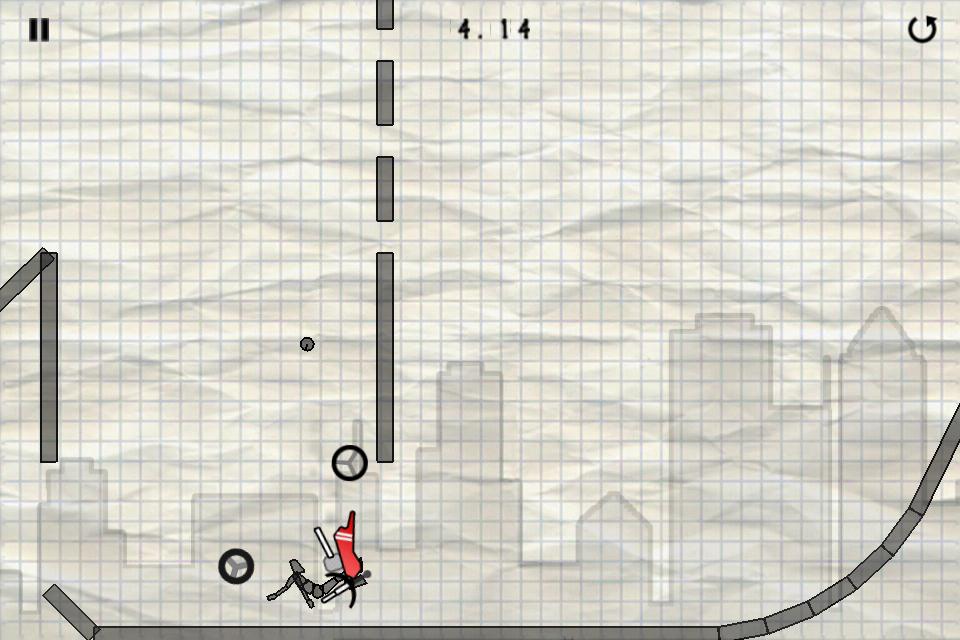 Stick Stunt Biker Lite screenshot #4