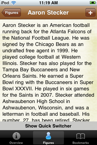 All Time New Orleans Football Roster screenshot #2