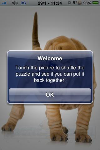 Sharpei Slide Puzzle screenshot #3