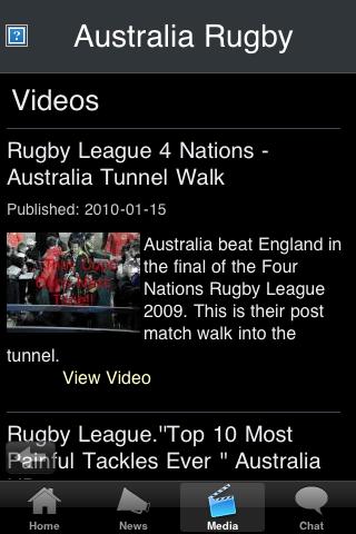 Rugby Fans - Australia screenshot #3