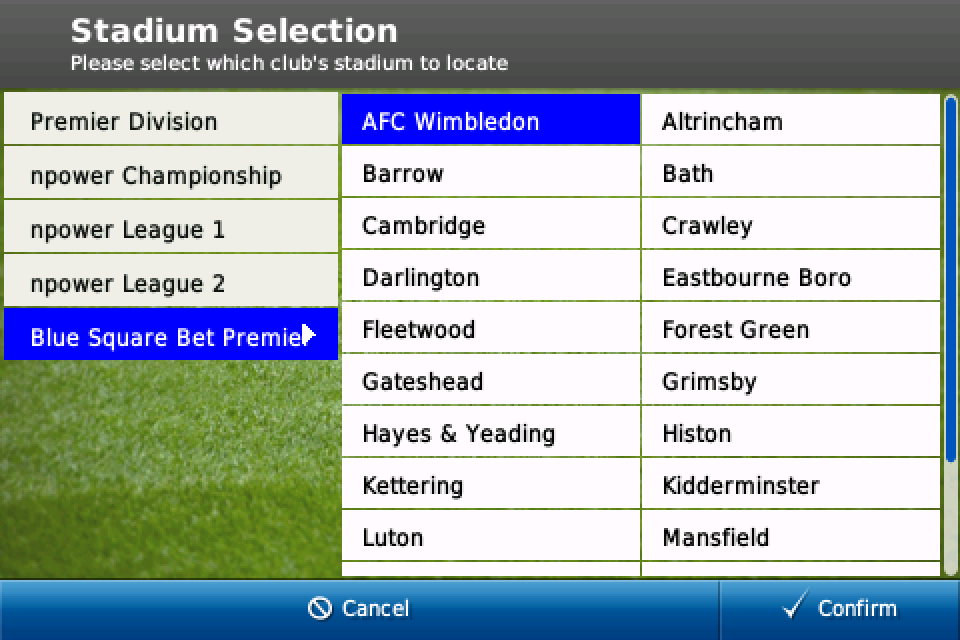 Football Manager Handheld™ 2011 (US and Japan) screenshot #4